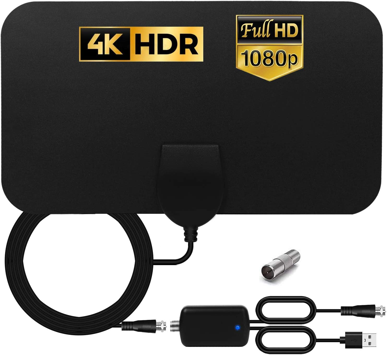 HCCH Antena TV Interior, Antena HDTV Digital de Alcance de ...