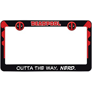 85%OFF Maximum Effort High Quality Black Metal License Plate Frame ...