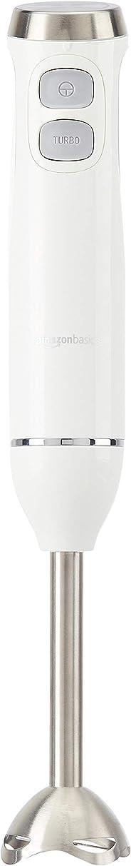 AmazonBasics Multi-Speed Immersion Hand Blender, White