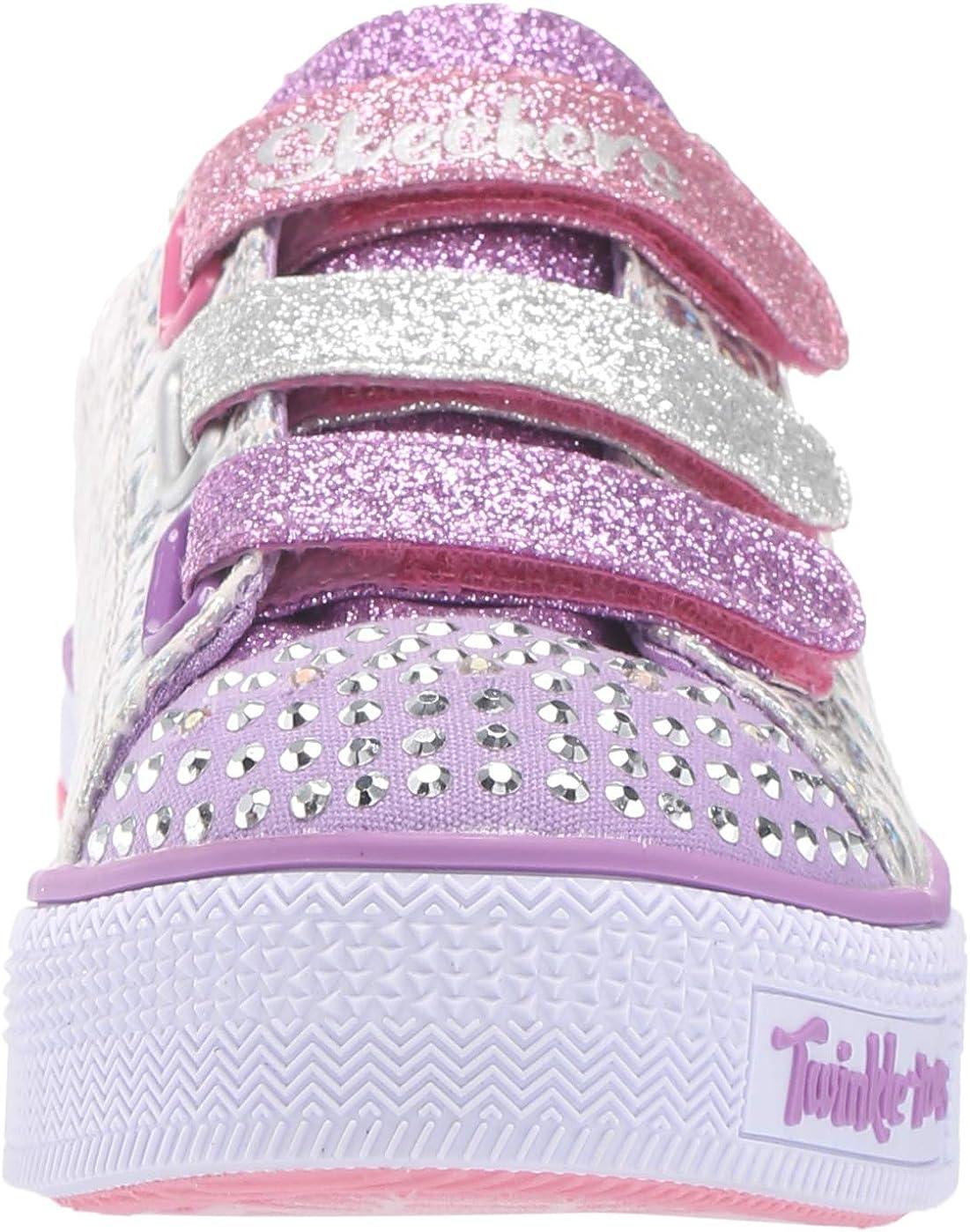 28.5 Twinkle Lite-Sparkle Scales Smlt Skechers