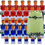 Billiard Evolution 26 Red/Blue Shirts/Socks