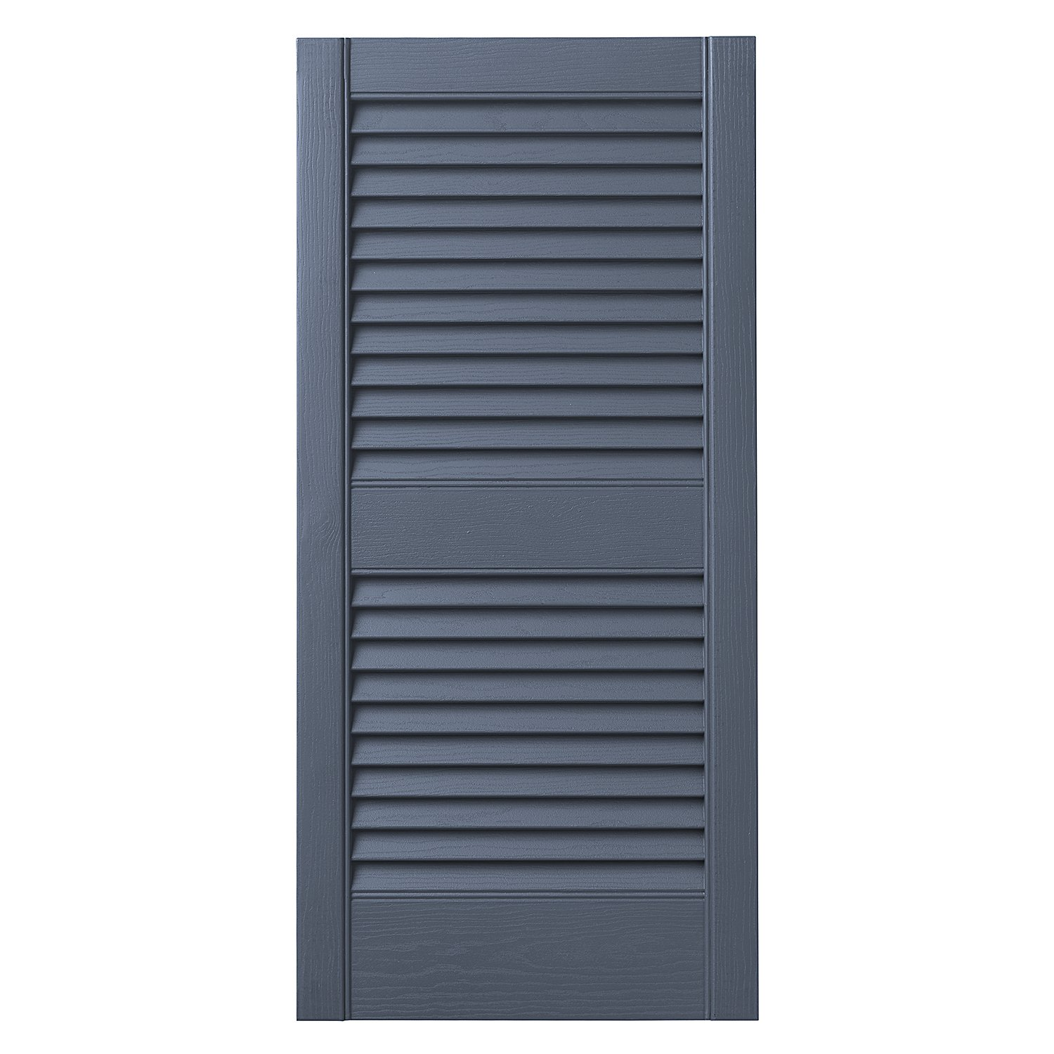 Ply Gem Shutters and Accents VINLV1525 41 Louvered