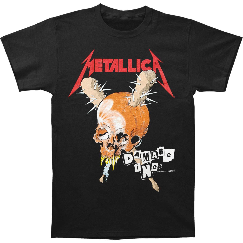 Metallica S Damage Inc Tshirt Black