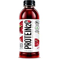 Protein2o 15g Whey Protein Infused Water, Wild Cherry, 16.9 oz Bottle (Pack of 12)