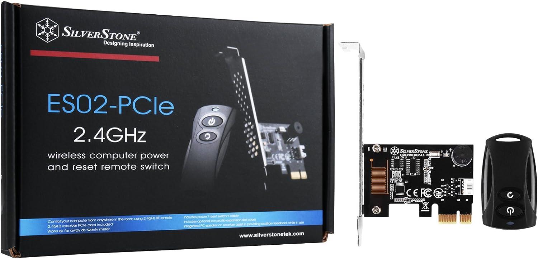 Silverstone Sst Es02 Pcie 2 4g Funk Fernbedienung Für Elektronik