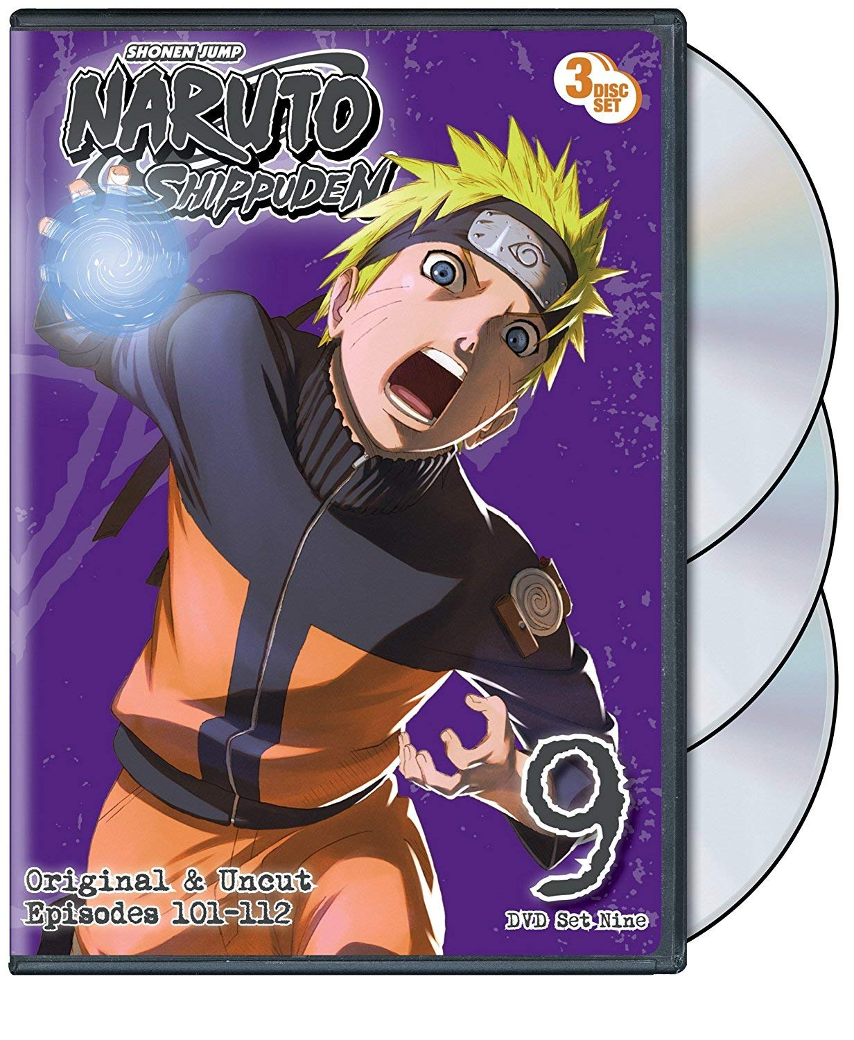 Naruto Shippuden Box Set 9 [Reino Unido] [DVD]: Amazon.es ...