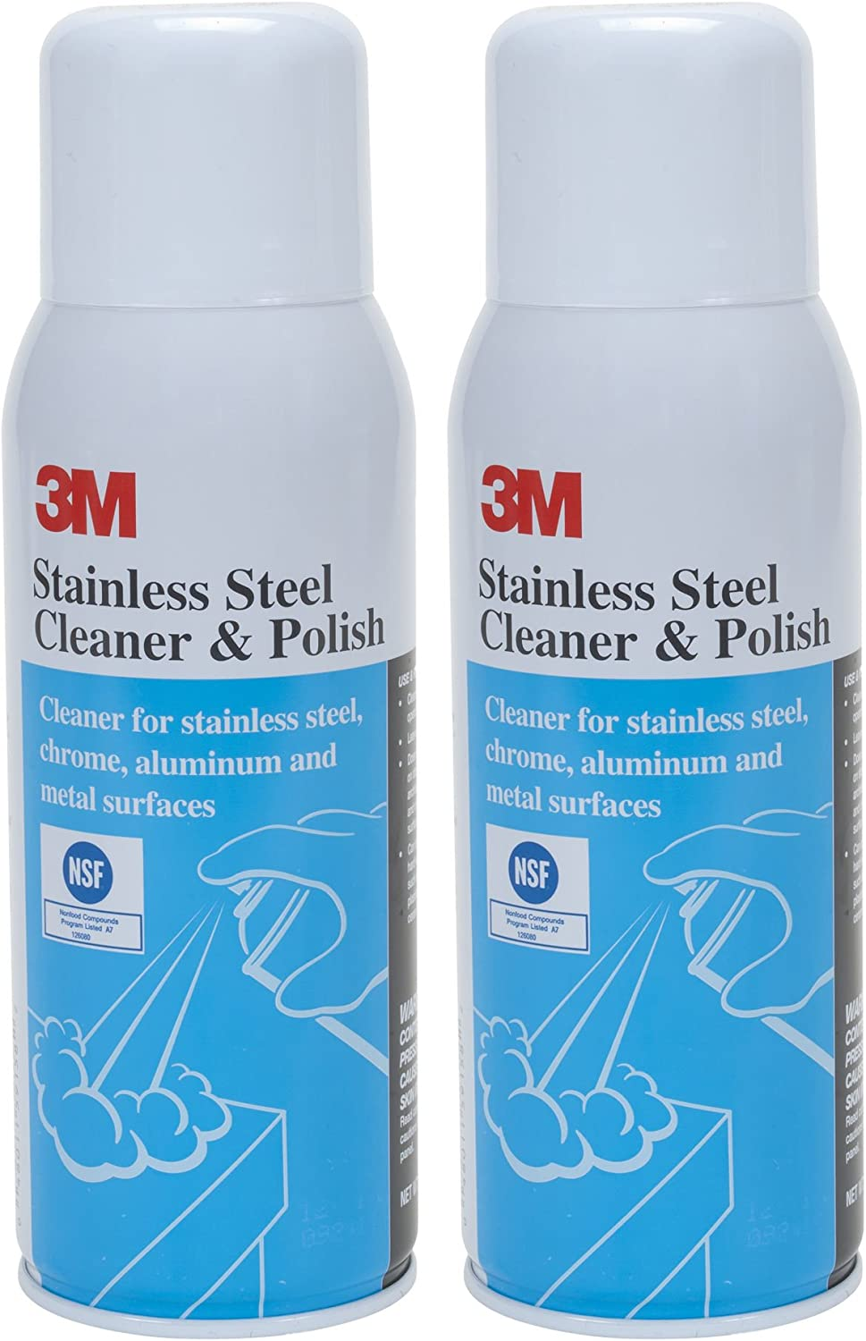 The 21-Ounce 3M Stainless Steel Polish and Cleaner