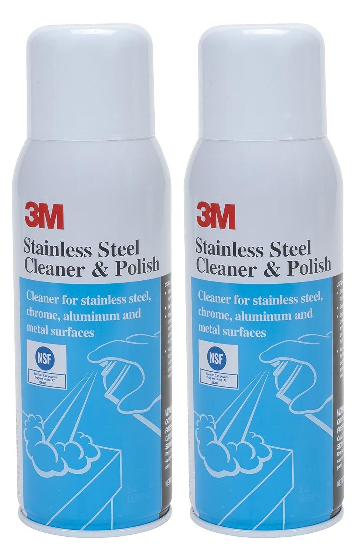 3 M acero inoxidable limpiador y abrillantador, 21 ml ...