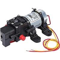 Coolty Högtrycksmembran vattenpump DC 12 V självflödande elektrisk pump 100 PSI 4 l/min för husvagn båt rengöring tvätt…
