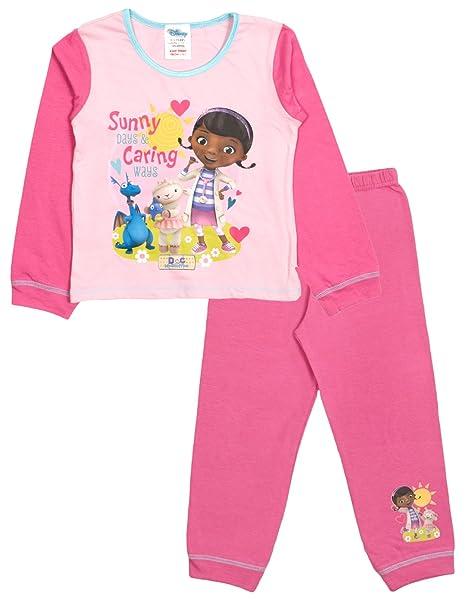 Disney - Pijama - Manga Larga - para niña Rosa Sunny Days & Caring Ways Small