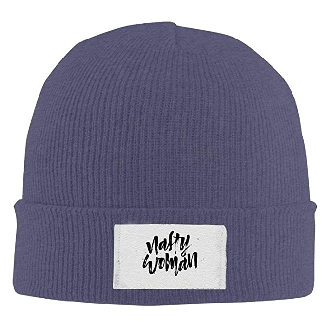 Beanie Hats Nasty Woman Definition Printed Hedging Cap Slouchy Winter Warm  Skull Caps Men Womnens  Amazon.ca  Clothing   Accessories b1bcc30a6f5