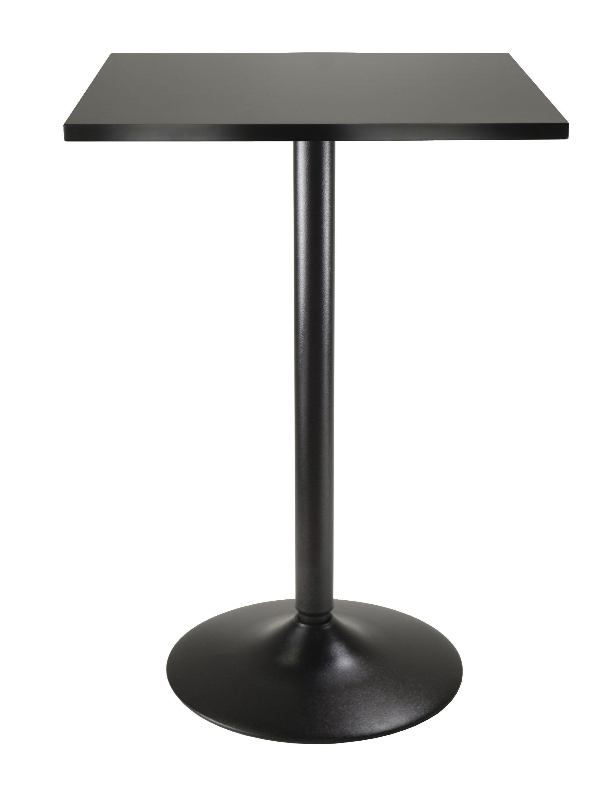 "T Base 22 Wide Bottom Perfect Table Base for Bar Use 41 H Bar Height x 3/"" Column Indoor End Table Base KIT for Bar Table Tops Bar Height Restaurant Table Base Black Color 2 Prong Style"