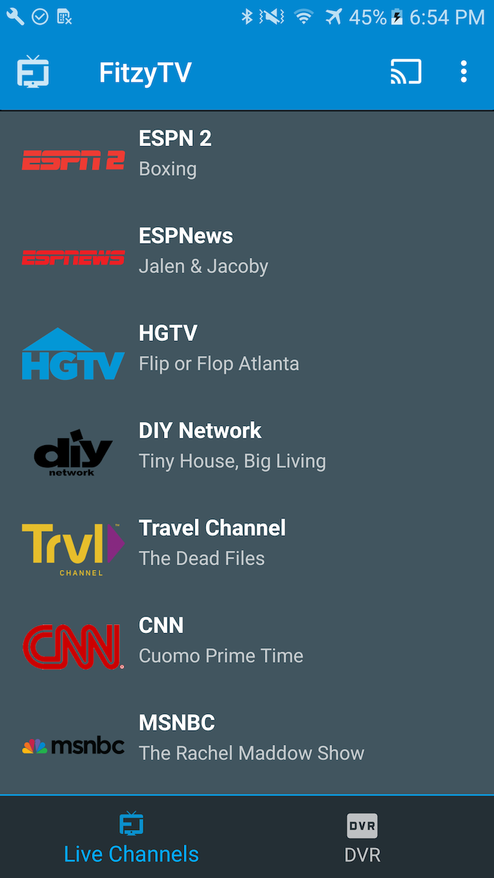 Prime Tv Channels