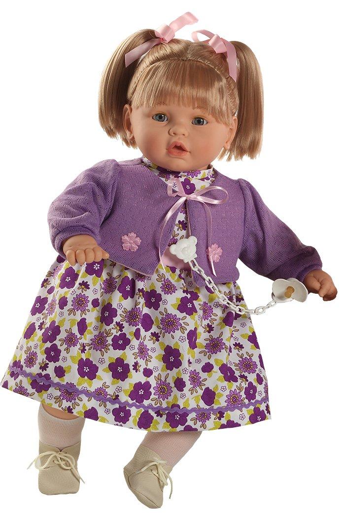 Centro comercial profesional integrado en línea. Berbesa - Baby dulzona dulzona dulzona llorona, muñeca con Vestido Lila (80281)  descuento online