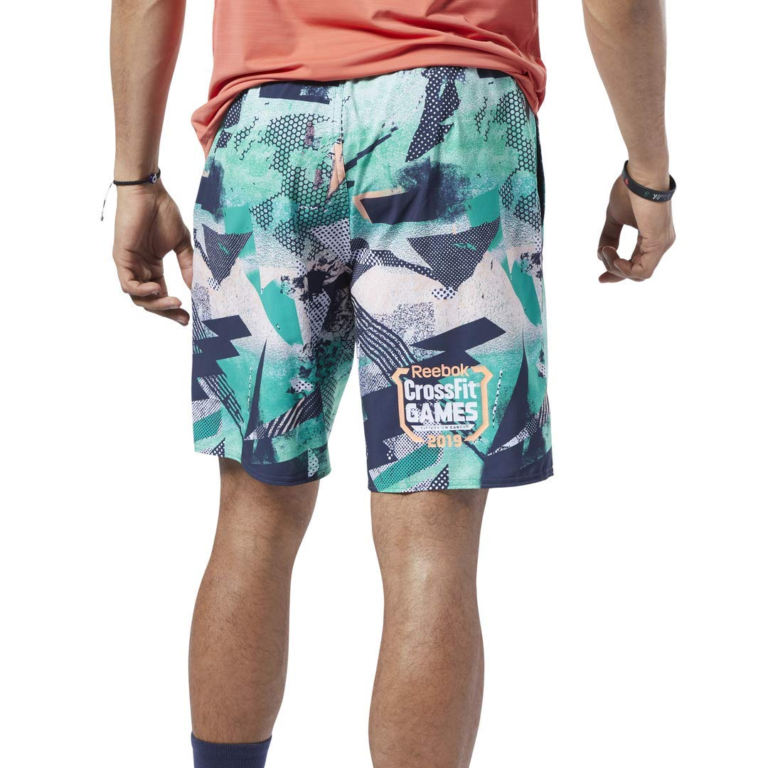 L//G Emerald Reebok Crossfit Games Speed Shorts