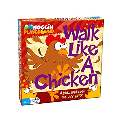 Kids Party Game - Noggin Playground's Walk Like a Chicken - A Hide and Seek Activity Game for Young Children: Toys & Games