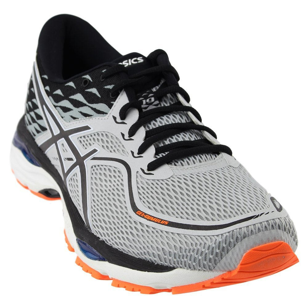 ASICS Men's Gel-Cumulus 19 Running Shoe B077FG6YKR 12.5 D(M) US|Grey/White