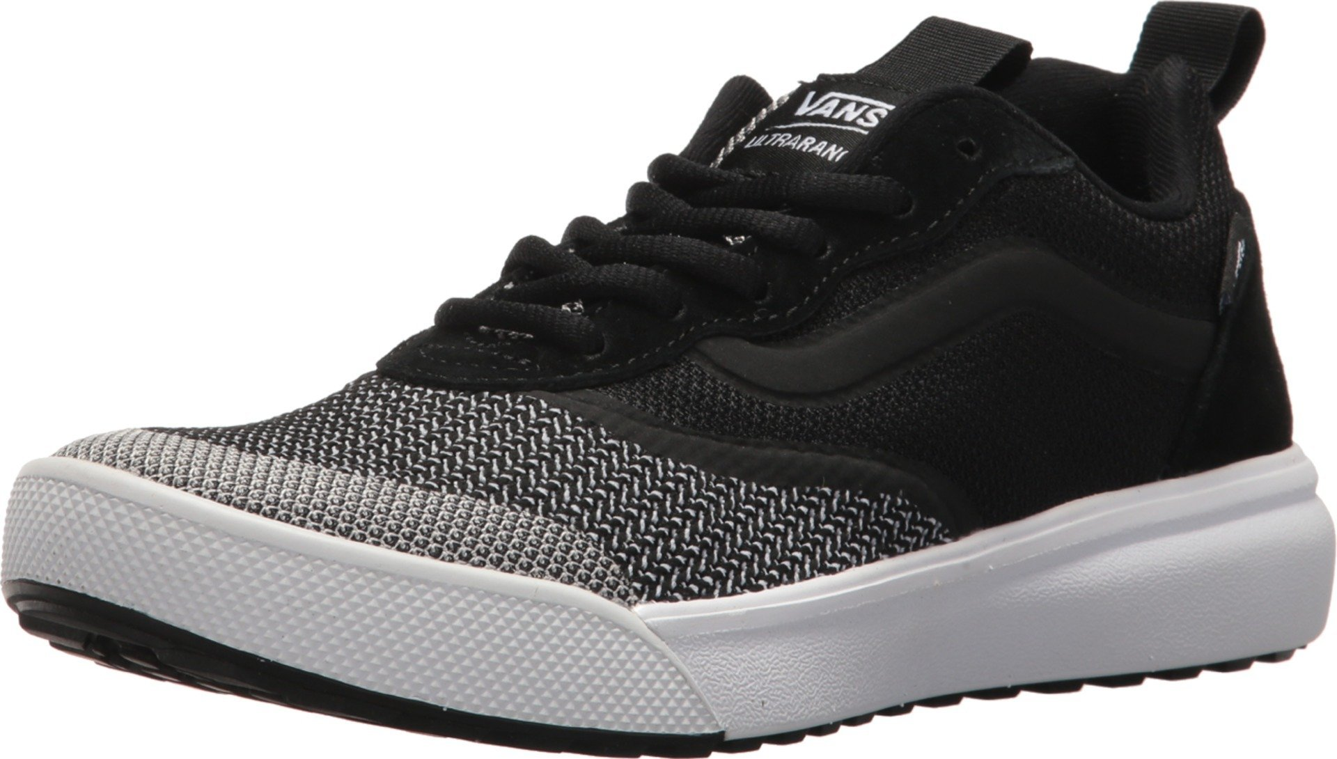 Vans Unisex UA Ultra Range DX (YC Knit) Black/True White 11 Women/9.5 Men M US