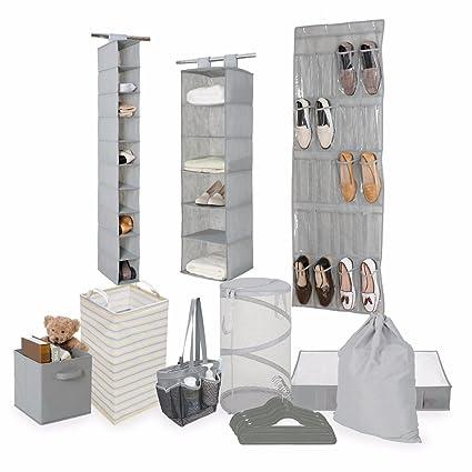 Amazon.com: Tidy Living Bundle - Organization Storage Solution Set ...