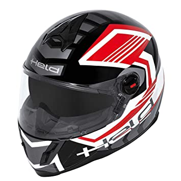 Héroe Masuda casco integral rojo/negro Talla:XXL (63/64)