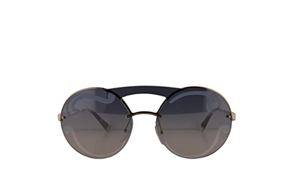 db4a934cc Prada PR65TS Sunglasses Pale Gold w/Silver Blue Gradient 36mm Lens ZVN0D0  SPR65T PR 65TS SPR 65T: Amazon.co.uk: Clothing