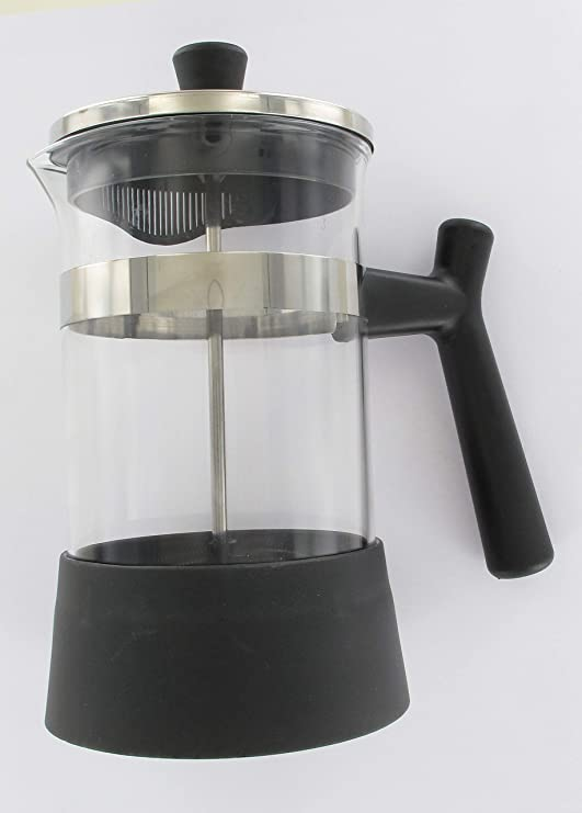 Fackelmann - Cafetera italiana con pistón, 600 ml, color negro ...