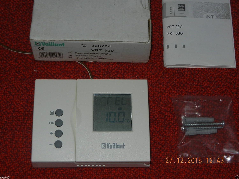 Vaillant vrt 320 regulador de temperatura ambiente: Amazon.es: Iluminación