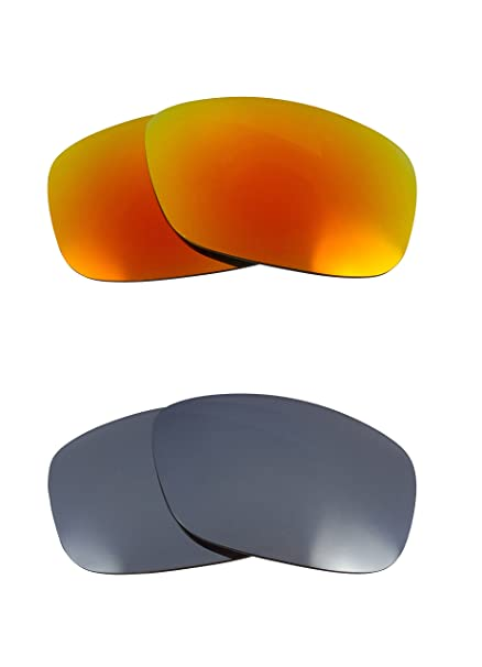 5ba9d4962a Image Unavailable. Image not available for. Color  FLAK 2.0 XL Replacement  Lenses Polarized Silver   Yellow by SEEK fits OAKLEY