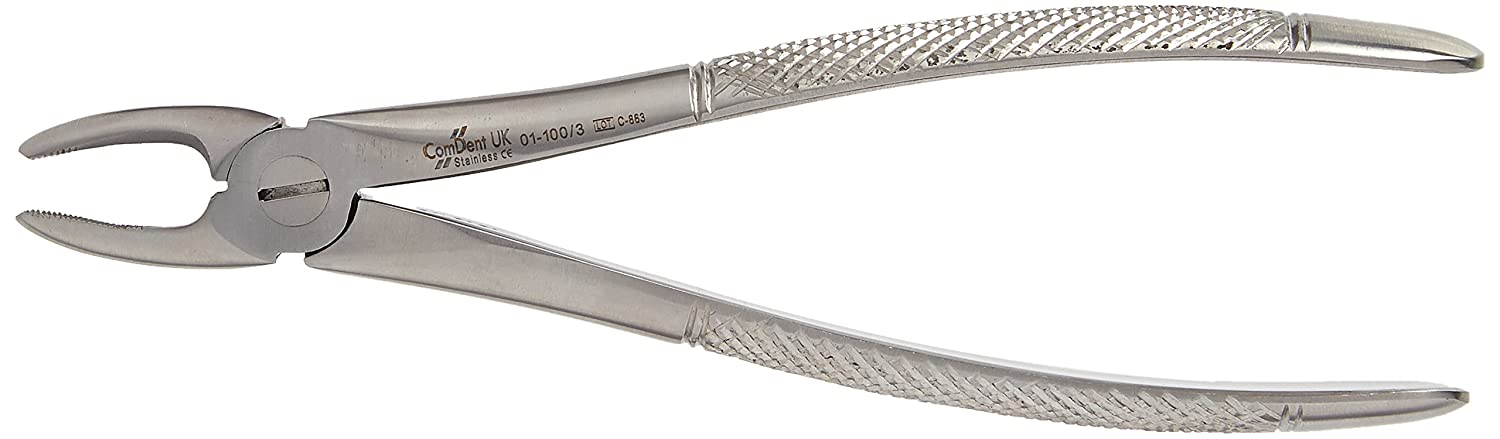 Comdent 01-100-3 Extracting Forceps, No.3 Commic International Limited