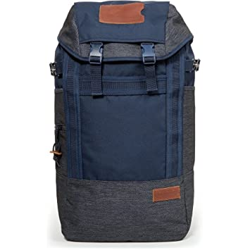 Eastpak Bust Merge Polyester Rucksack Backpack (Navy 53b3f9a075