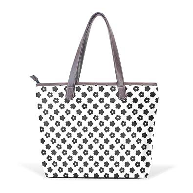 Ye Store Beauty Pattern Lady PU Leather Handbag Tote Bag Shoulder Bag Shopping Bag