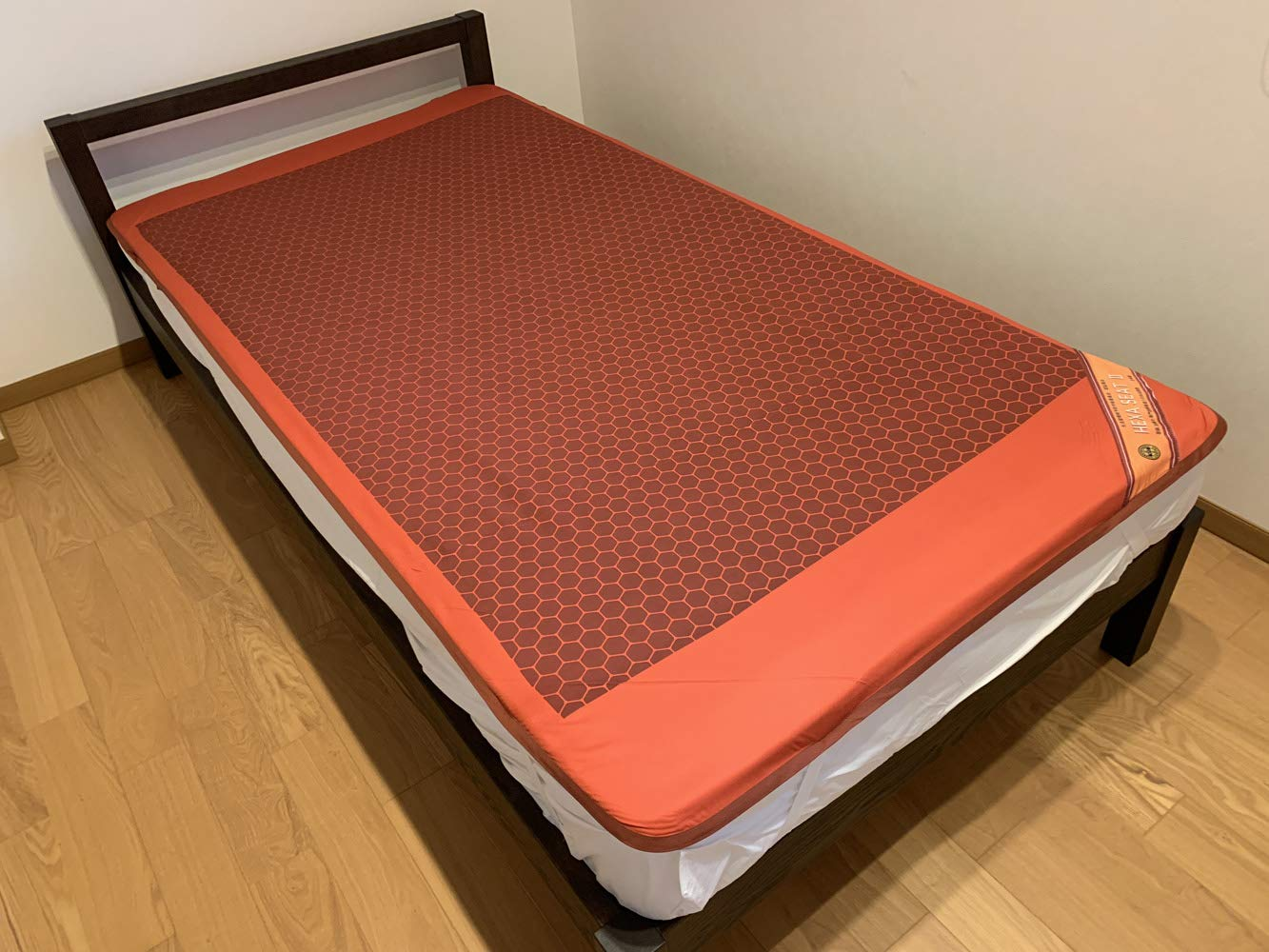 ベッド シート 布団 カバー ホルミシス 健康 睡眠 快眠シート アスリートタイプ ヘキサシートⅡ (100×200 cm) B07RRNMSRD  100×200 cm