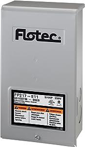 Flotec FP217-811 Parts2O Pentek Heavy Duty Submersible Well Pump Control Box, 230 V, 3/4 Hp, No 4