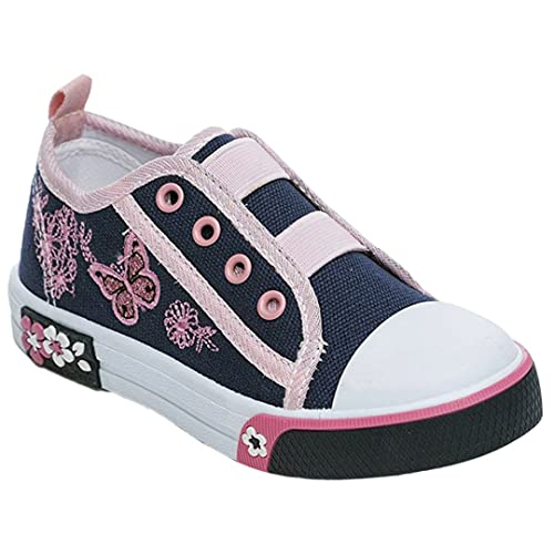 MYSHOESTORE Girls Canvas Shoes - Zapatillas de Lona para niña 20 EU Niño: Amazon.es: Zapatos y complementos