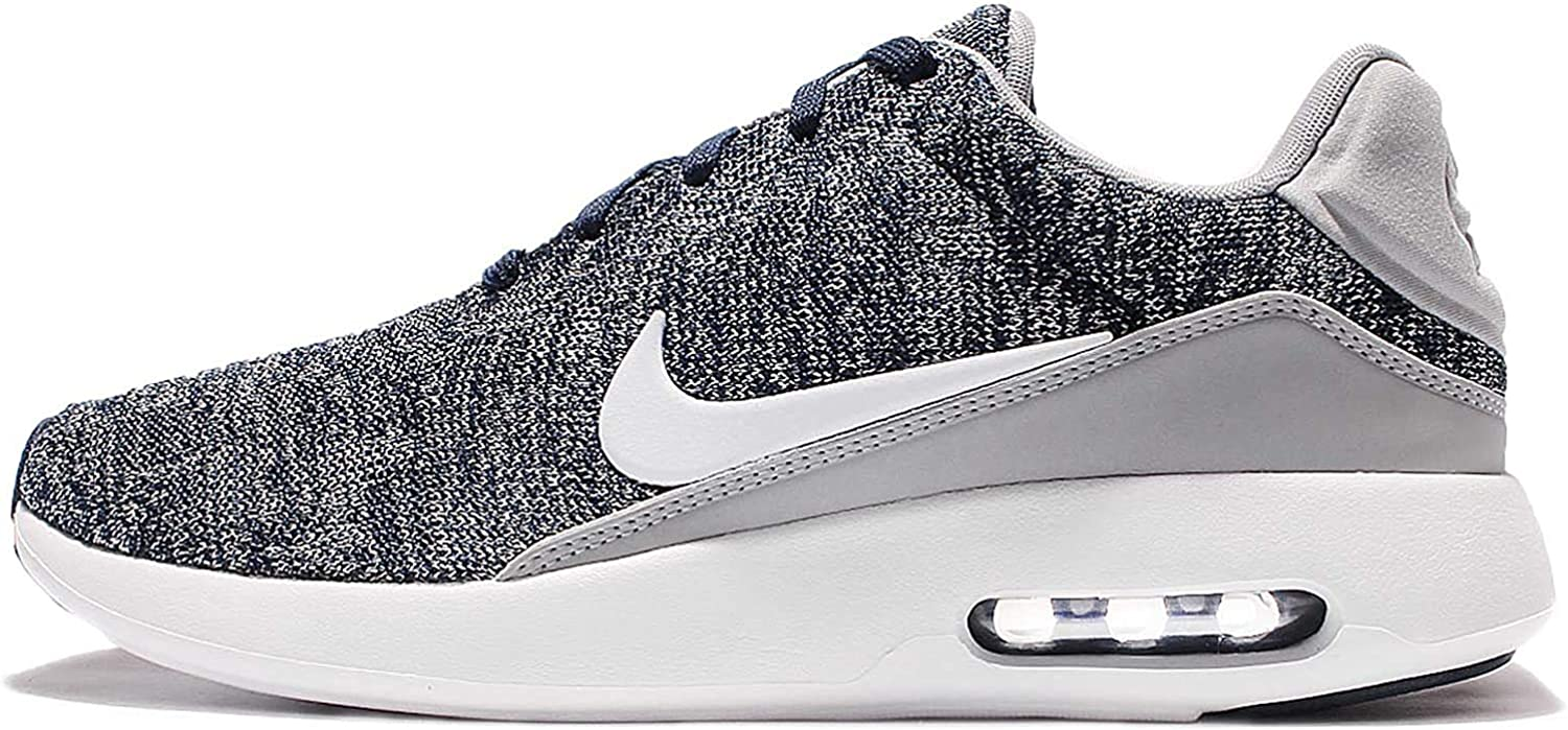 Nike Air Max Modern Flyknit, Sneakers Basses Homme College Navy White Wolf Gr