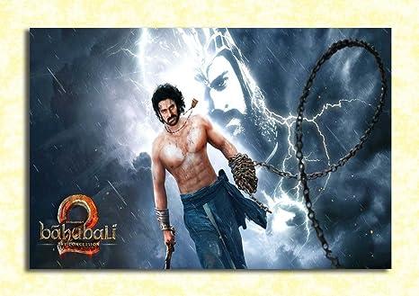 Tamatina Wall Poster Bahubali 2 The Conclusion Bahubali