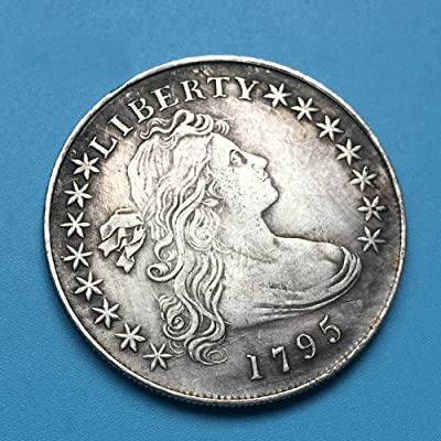 KaiKBax Best Morgan US Dollars-Old Coin Collecting-USA Old Replica Morgan Dollar Coins-Handmade US Coin 1795: Home & Kitchen