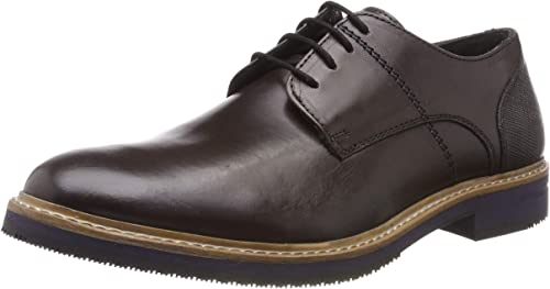 Hush Puppies Herren Pointer Plain Toe Derby Derbys, Bordeaux