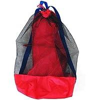 Aiasiry Bolsa de Red para Juguetes de Playa Bolsa de Malla Grande Bolsas de Almacenamiento de Juguetes para niños Bolsas…