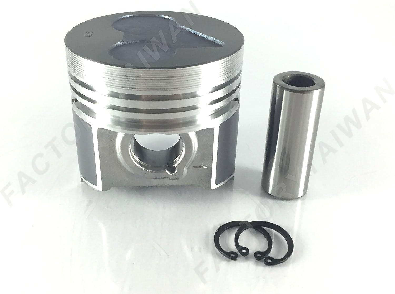 V2403 D1703 piston ring set Std 87mm for one piston Kubota V2203 3 rings