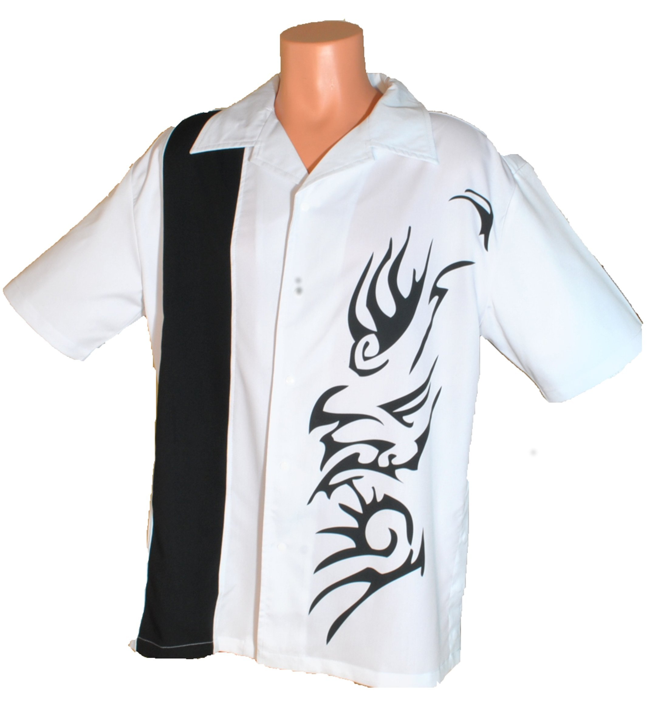 Mens New Concealed Weapons Shirt with Snaps. Size Medium. by Designs by Attila