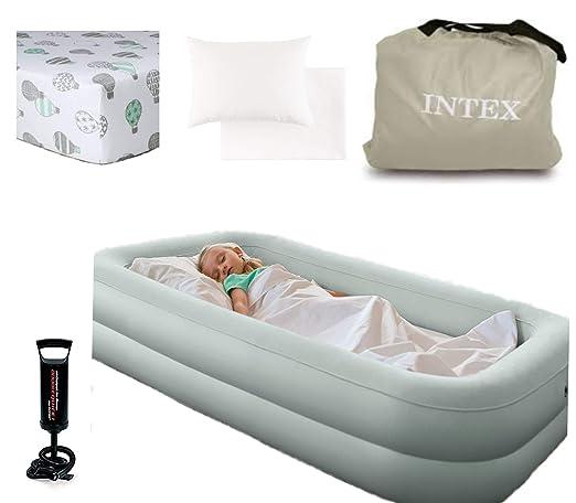 Amazon.com: Saco de dormir hinchable para cama infantil ...