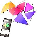 nanoleaf Aurora - 9x Modulare Smarte LED - Lichtpanels mit App Steuerung [Erweiterbar | 16 Millionen Farben | Plug and Play | iOS (Apple Home Kit kompatibel) & Android]