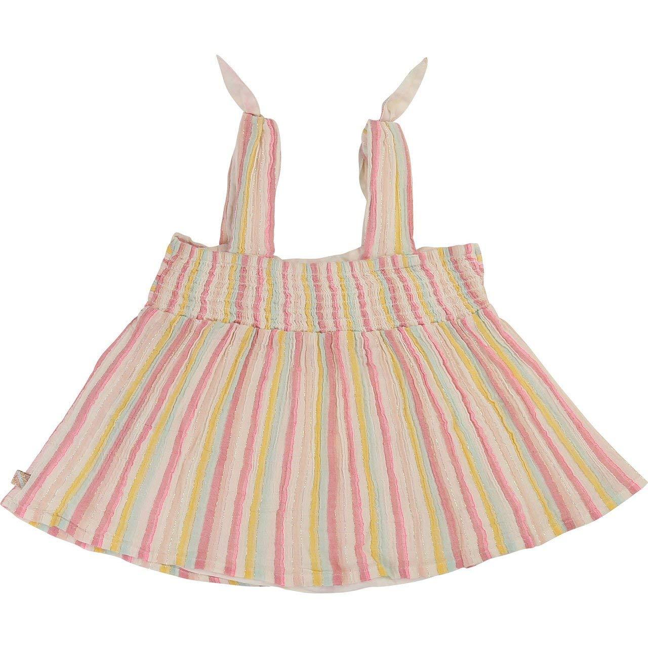 Toddler Girls Striped Crepe Tank Billieblush Yellow Size 3