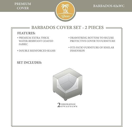 TK Classics BARBADOS-02a Winter Cover Set, Beige