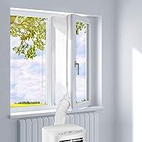 JOYUE Stof voor Ramen, voor Airconditioning, Draagbaar en Wasdroger, Werkt Met alle Mobiele Airconditioning, Eenvoudige…