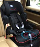 Mcc Black 3in1 Convertible Baby Child Car Safety Booster Seat Group 1/2/3 9-36 kg