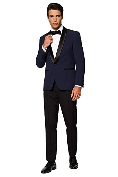 Amazon.com: OppoSuits Esmoquin de color sólido para hombre ...