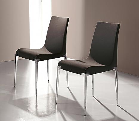 Sedie In Vera Pelle Per Sala Da Pranzo.Bonaldo Sedia Ola Premium Design Vera Pelle Sedia Per Sala