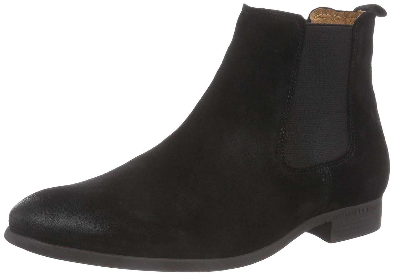 nobrand Jukebox Herren Chelsea Boots Schwarz (Black)